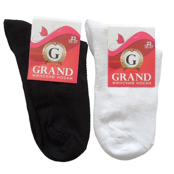 Носки женские GRAND  арт. ЖС-20 сетка