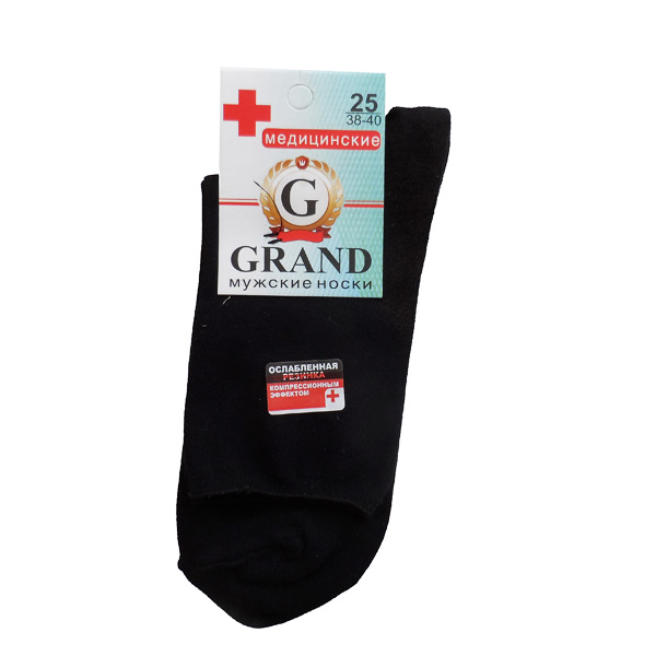 Носки мужские GRAND  арт. MЕД-90