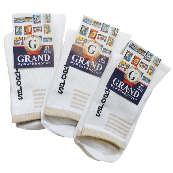 Носки мужские для спорта GRAND  арт. MС-25