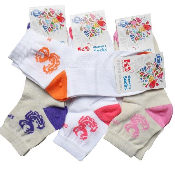 Носки женские для спорта КВ  арт. С-417